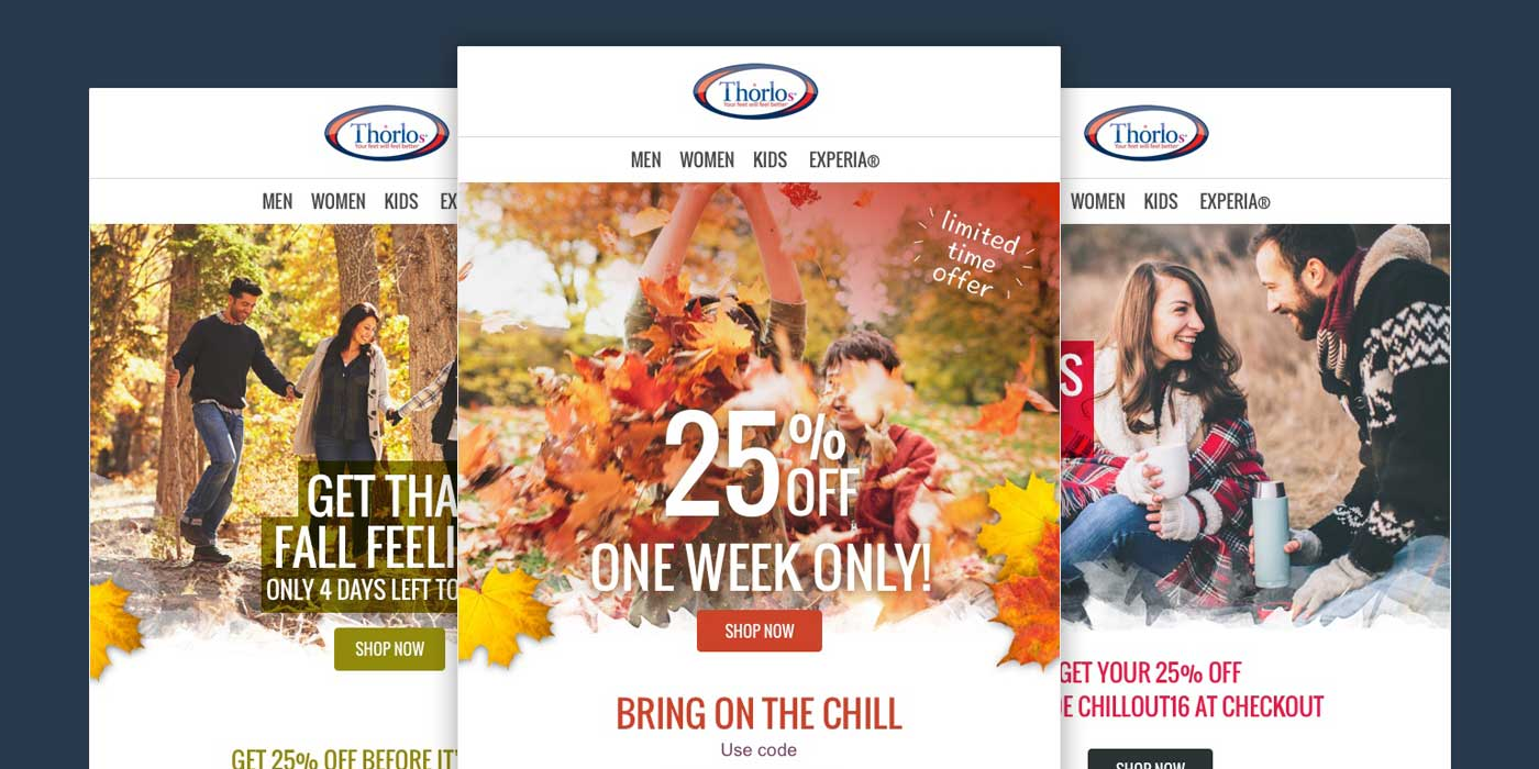 Fall Promotional Email Outreach